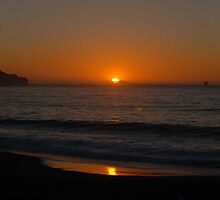 Sunset at Baker's Beach by ShootinMickey