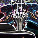 Glowing Violin 2 by MaddyPaddy