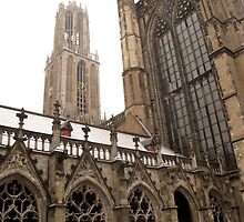 dom tower, utrecht, Netherlands by thijsjagers