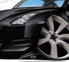 Nissan GT-R Black Sticker