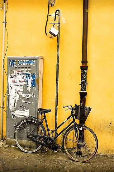 Bike In campo De Fiori by rorycobbe
