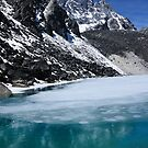 Gokyo Lake No. 2 - Nepal Everest Trail by Derek McMorrine