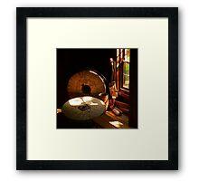 Bale Grist Mill Framed Print