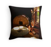 Bale Grist Mill Throw Pillow