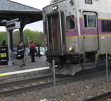 1717 MBTA Commuter Rail by Eric Sanford