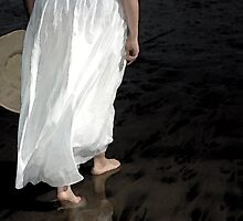 stepping toward the sea by korinneleigh