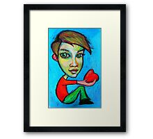 This is for you Framed Print