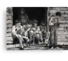 Brothers Plus Two Canvas Print