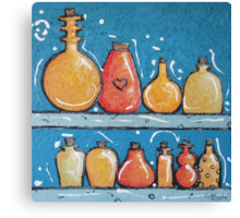 Lotions and Potions Canvas Print