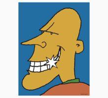 Happy Bald Man by Ashoka Chowta