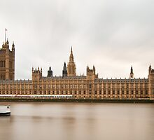 Palace of Westminster, London by Davide Anastasia