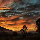 Clouds on Fire by Woomera