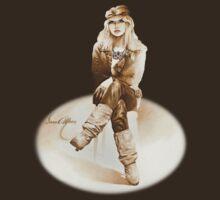 """""""Rocker Girl"""" v3 from an Artwork by Sara Moon by Sara Moon"""