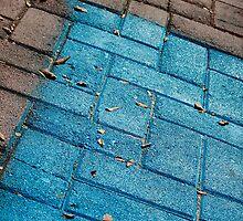 turquoise walk by Annalisa Bruno