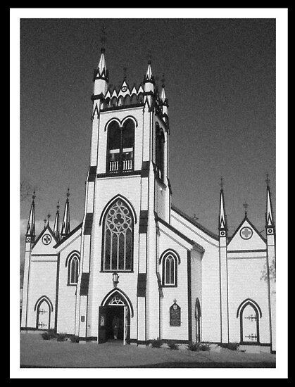 Old German Church - Lunenburg, Nova Scotia by ateneyck