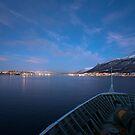 Approaching Tromsø by David Burren