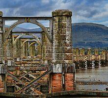 Alloa swing bridge by John M Howie