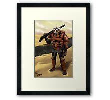 Commando Framed Print