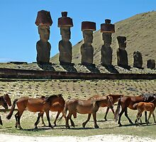 Easter Island magnificence! by Marieseyes