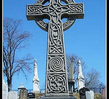 Celtic Gravestone - Halifax, Nova Scotia by ateneyck