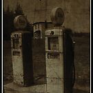 Old gas Pumps - Nova Scotia by ateneyck