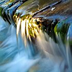 Waterfall, Glenorchy, New Zealand. by Michael Schön