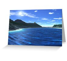 Newberry Castle Bay Greeting Card