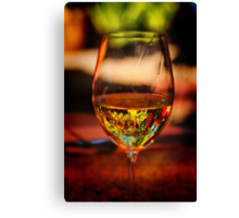 Wine in the Garden Canvas Print