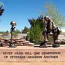 Albuquerque, New Mexico USA, Services Memorial Park by Paul Albert