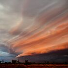 Thunderstorm, Western Australia. by Michael Schön