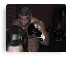 UFC fighter Canvas Print