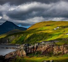 Elgol and Blaven, in Summer, Isle of Skye. Scotland. by photosecosse /barbara jones