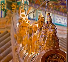 Summer Palace Roof  by Karen Millard