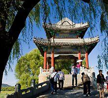 Bridge on Kunming Lake by Karen Millard