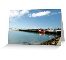 Howth Harbour 2010 Greeting Card