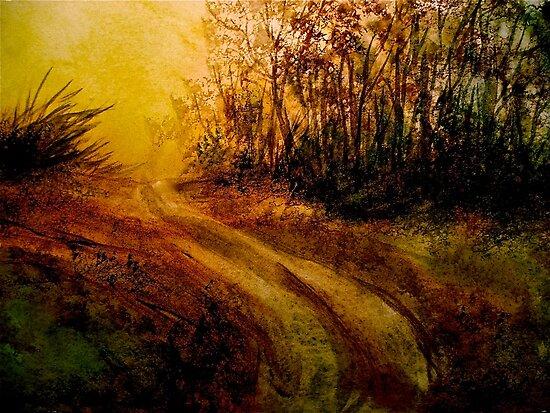 Landscape Hardy..The Walk by ©Janis Zroback
