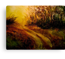 Landscape Hardy..The Walk Canvas Print