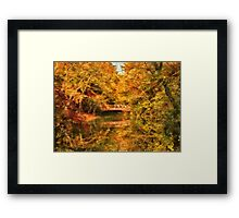 Autumn - Nature's Finest Framed Print