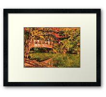 Bridge - Asian Delight Framed Print