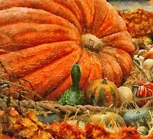 Pumpkin - Great Gourds by Mike  Savad