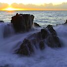 Sunrise Over Neptune - Coolum - Sunshine Coast - Queensland - Australia by AMP  Al Melville Photography