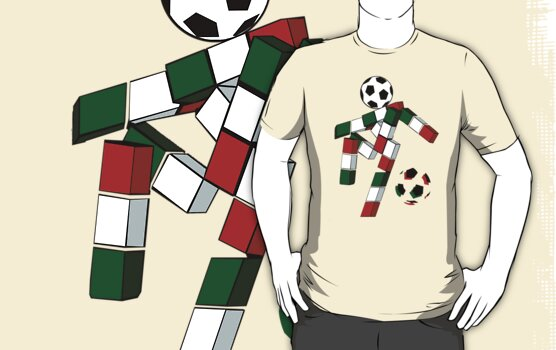 A Casual Classic iconic Italia 90 inspired t-shirt design  by Casual Classics