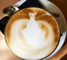 Coffee Cat by Victoria McGuire