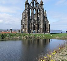 Whitby Abbey, North Yorkshire, UK by GeorgeOne
