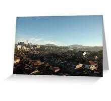 slum area Greeting Card