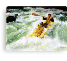 River Rats Canvas Print
