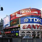 Piccadilly Circus - London by Audrey Clarke
