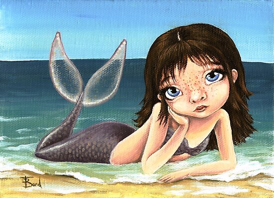 Katie the mermaid by tanyabond