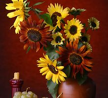 Sunflowers by VladimirFloyd