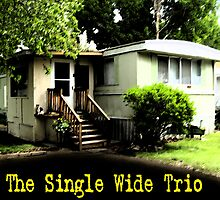 CD Cover ~ The Single Wide Trio by Rob Wallace